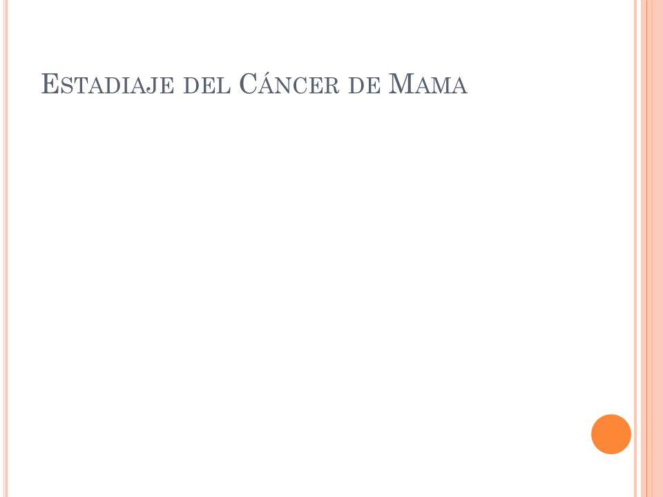 Estadiaje del Cáncer de Mama