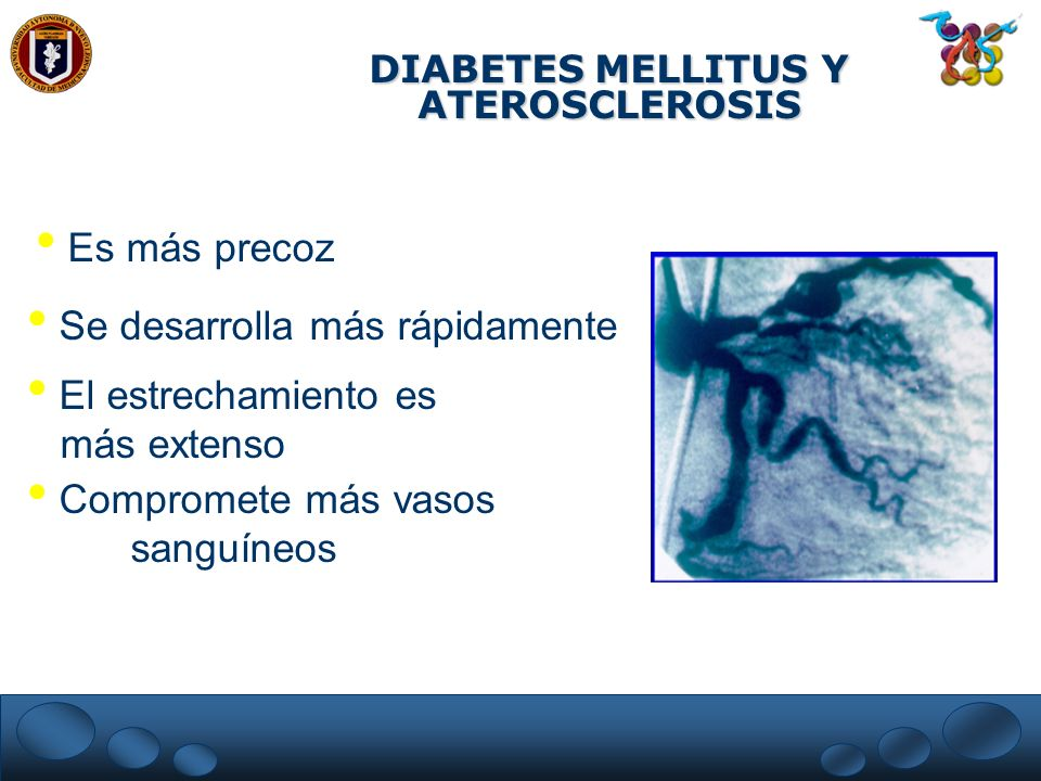 DIABETES MELLITUS Y ATEROSCLEROSIS