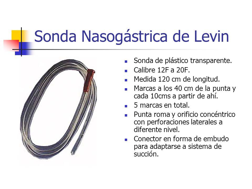 Sonda Nasogástrica de Levin