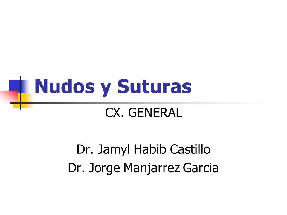 CX. GENERAL Dr. Jamyl Habib Castillo Dr. Jorge Manjarrez Garcia