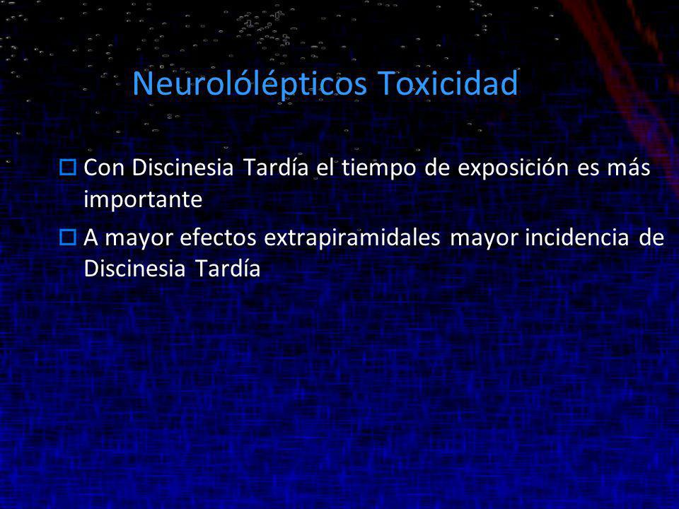 Neurolólépticos Toxicidad