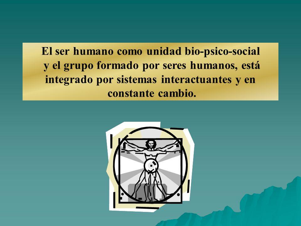 El ser humano como unidad bio-psico-social