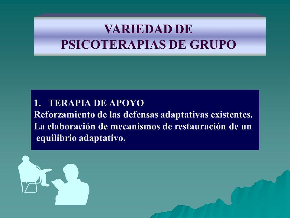 PSICOTERAPIAS DE GRUPO