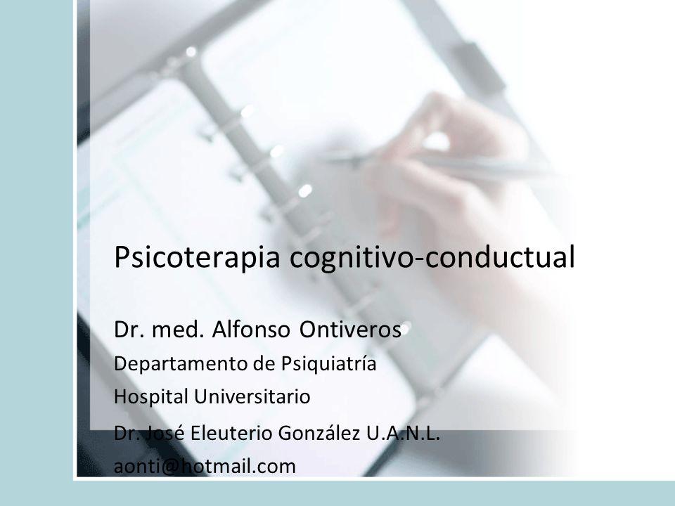 Psicoterapia cognitivo-conductual