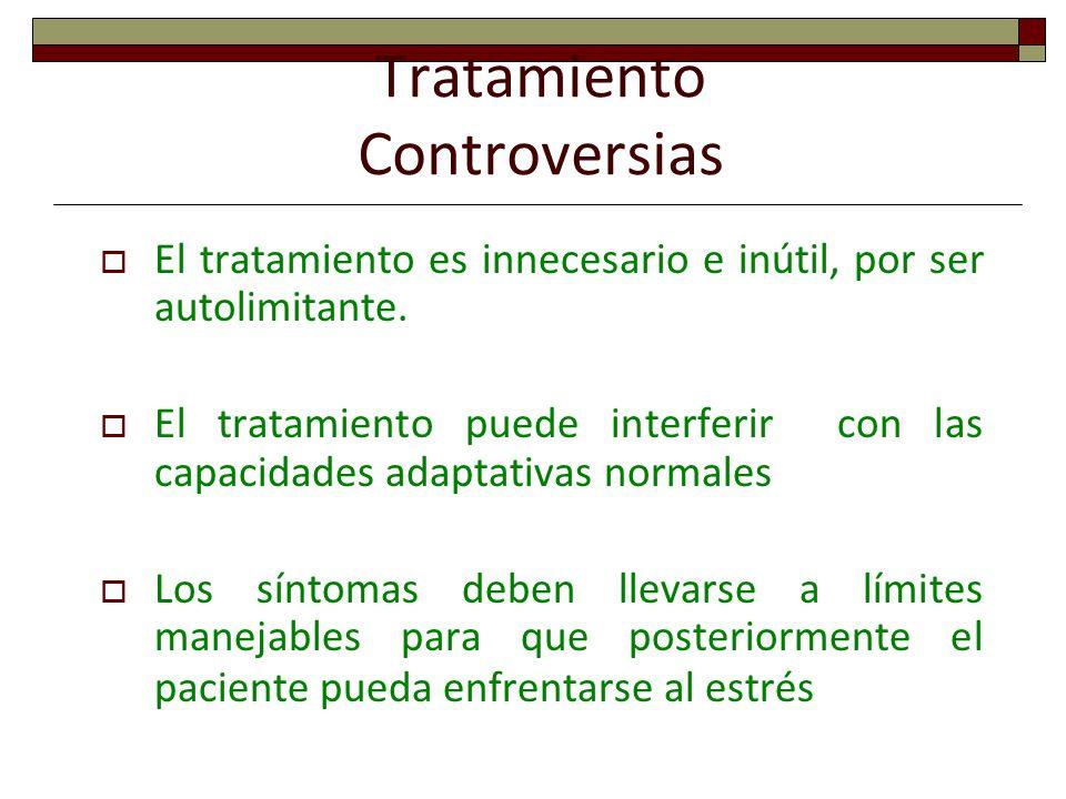Tratamiento Controversias
