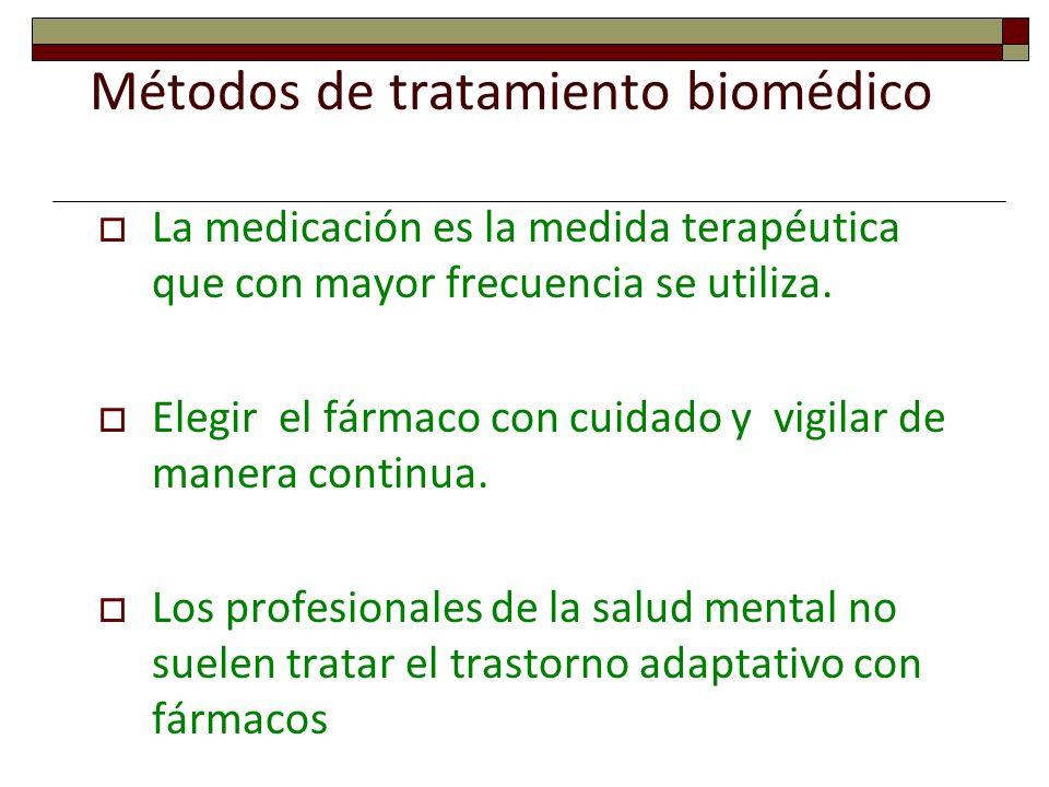 Métodos de tratamiento biomédico