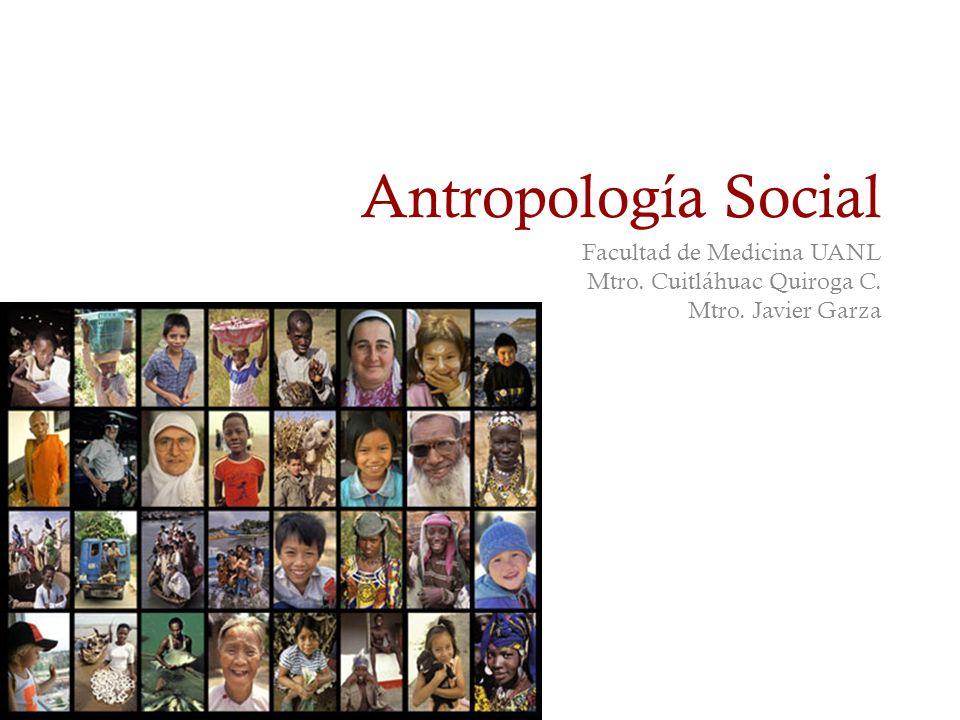 Antropología Social Facultad de Medicina UANL