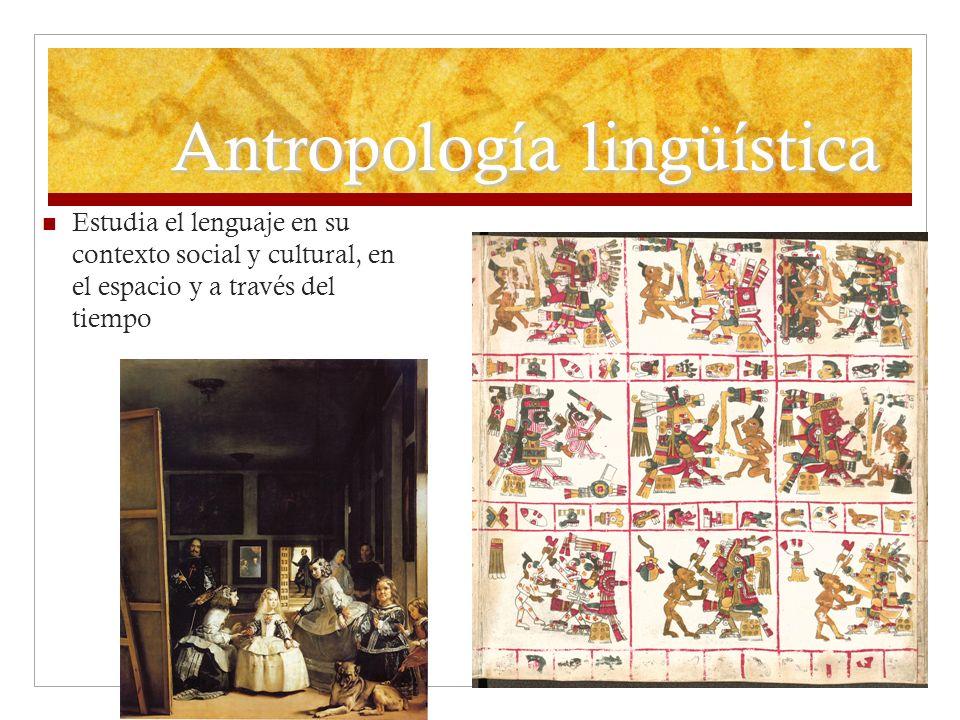 Antropología lingüística