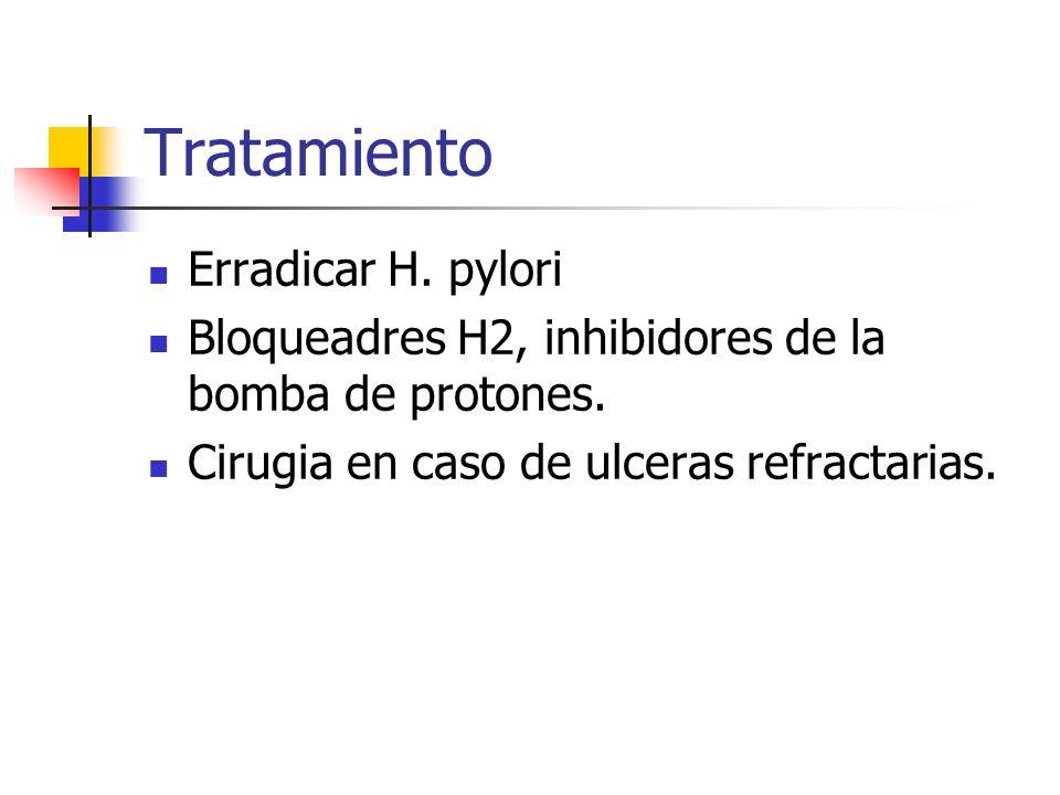 Tratamiento Erradicar H. pylori
