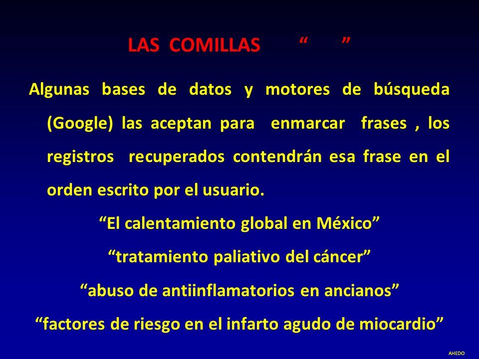 LAS COMILLAS