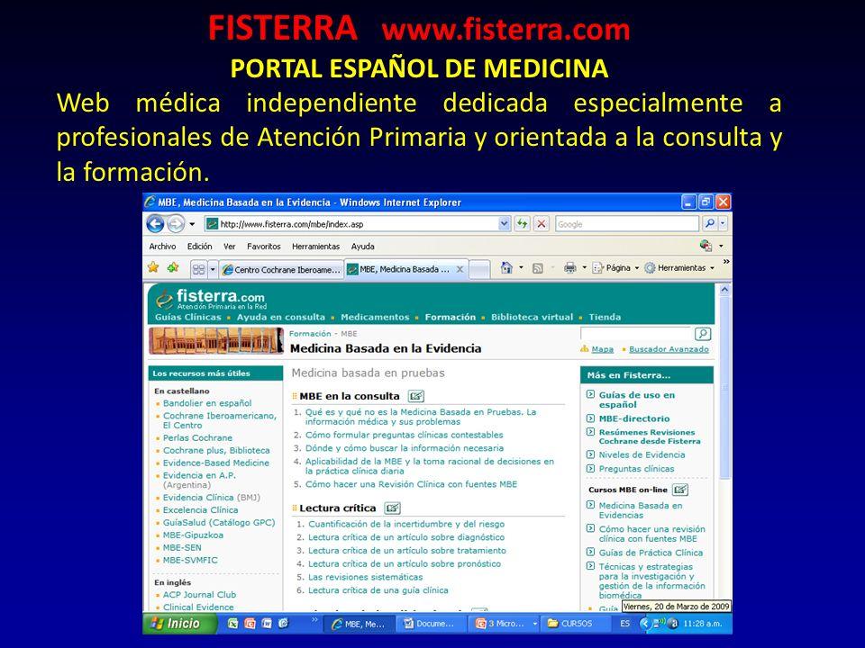 FISTERRA www.fisterra.com