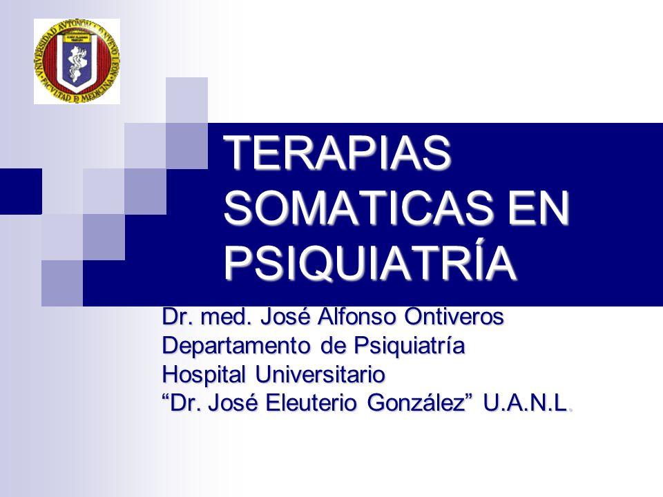TERAPIAS SOMATICAS EN PSIQUIATRÍA