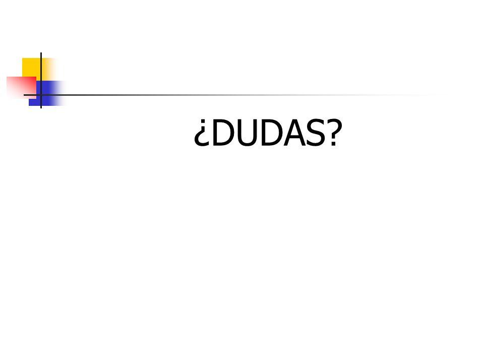 ¿DUDAS