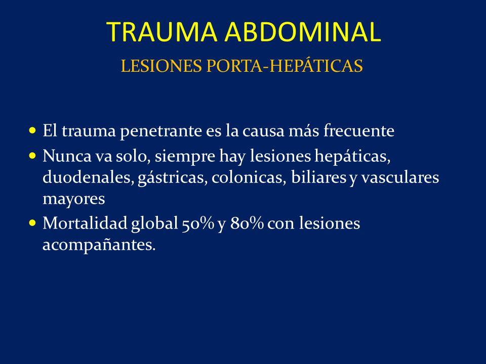 LESIONES PORTA-HEPÁTICAS