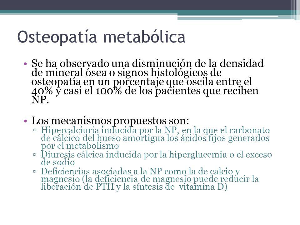 Osteopatía metabólica