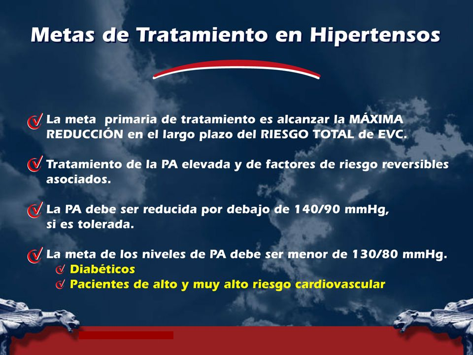 In hypertensive patients, the primary goal of treatment