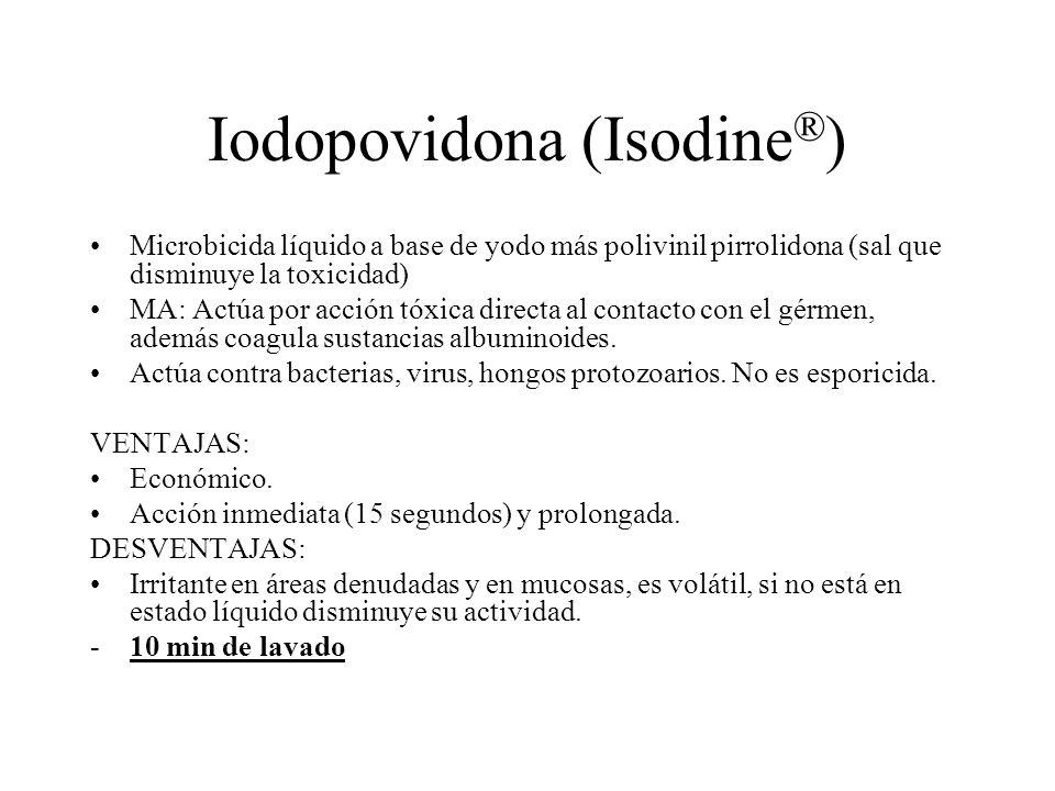 Iodopovidona (Isodine®)
