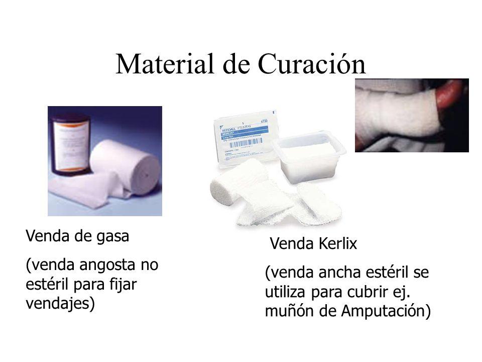 Material de Curación Venda de gasa Venda Kerlix