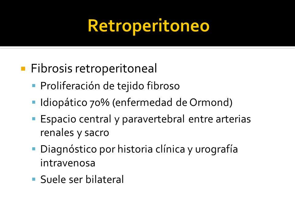 Retroperitoneo Fibrosis retroperitoneal