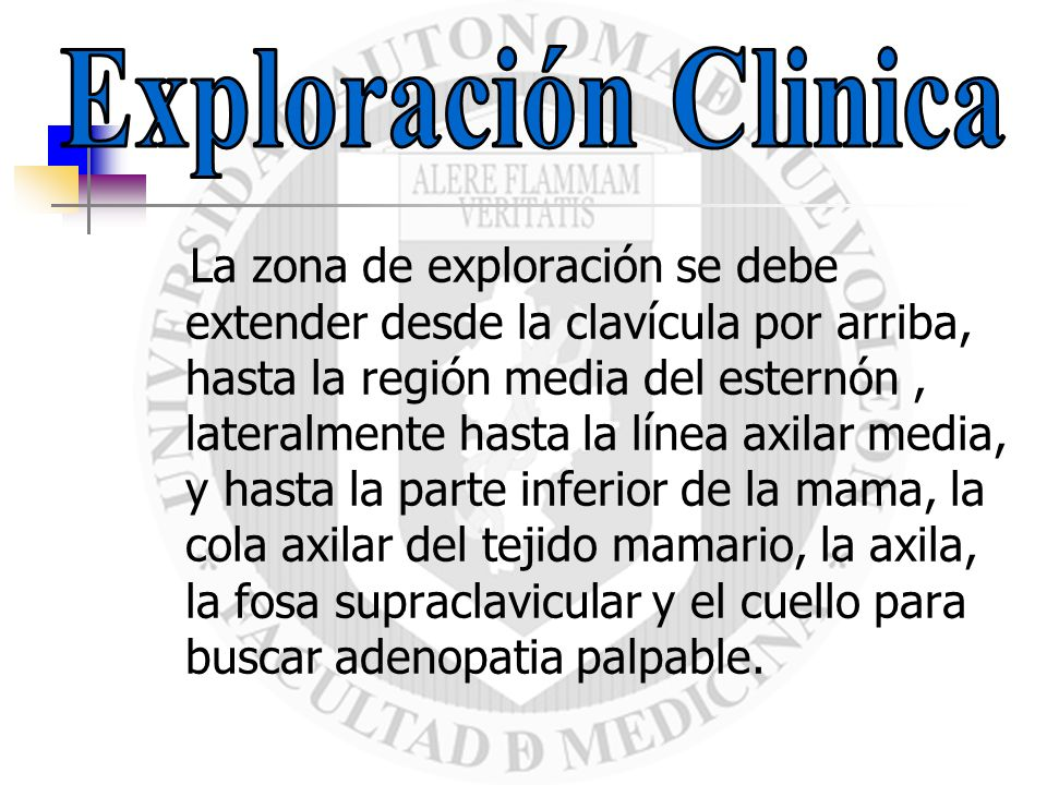 Exploración Clinica