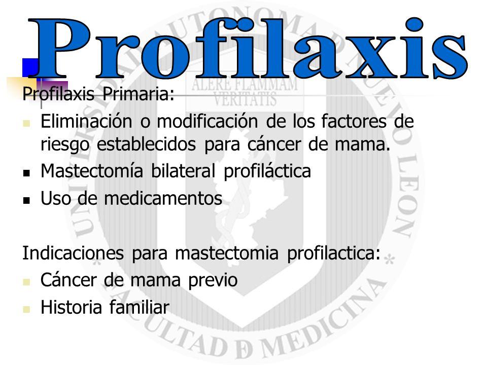Profilaxis Profilaxis Primaria: