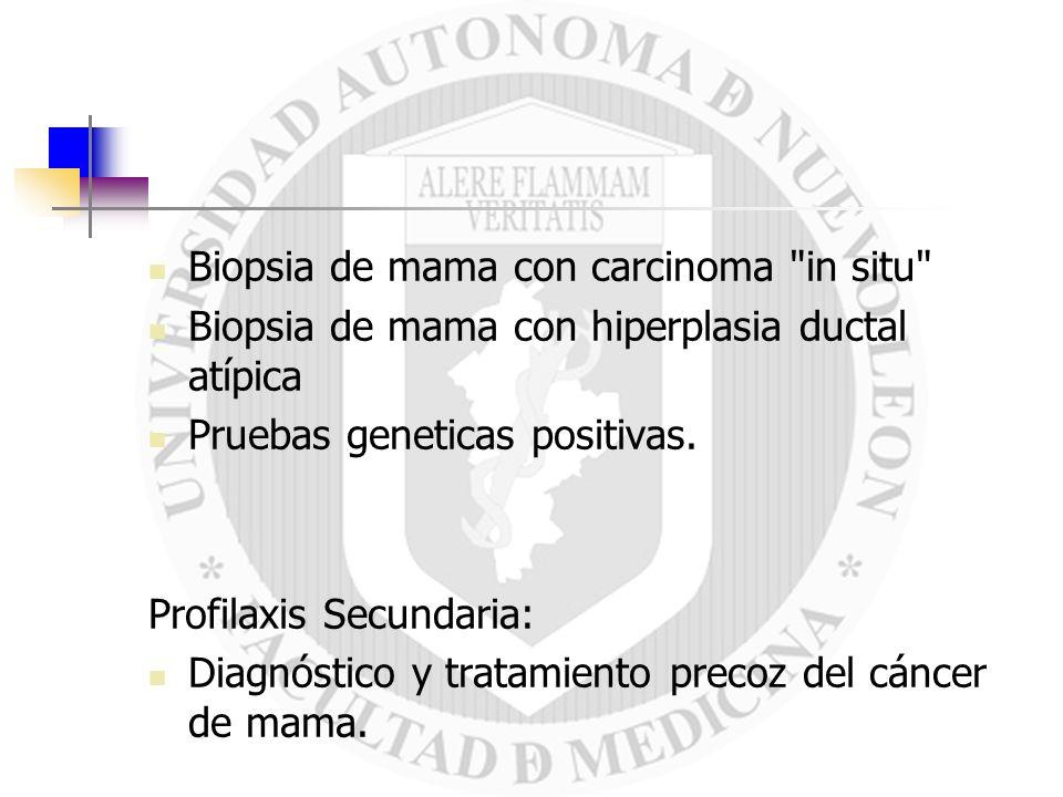 Biopsia de mama con carcinoma in situ