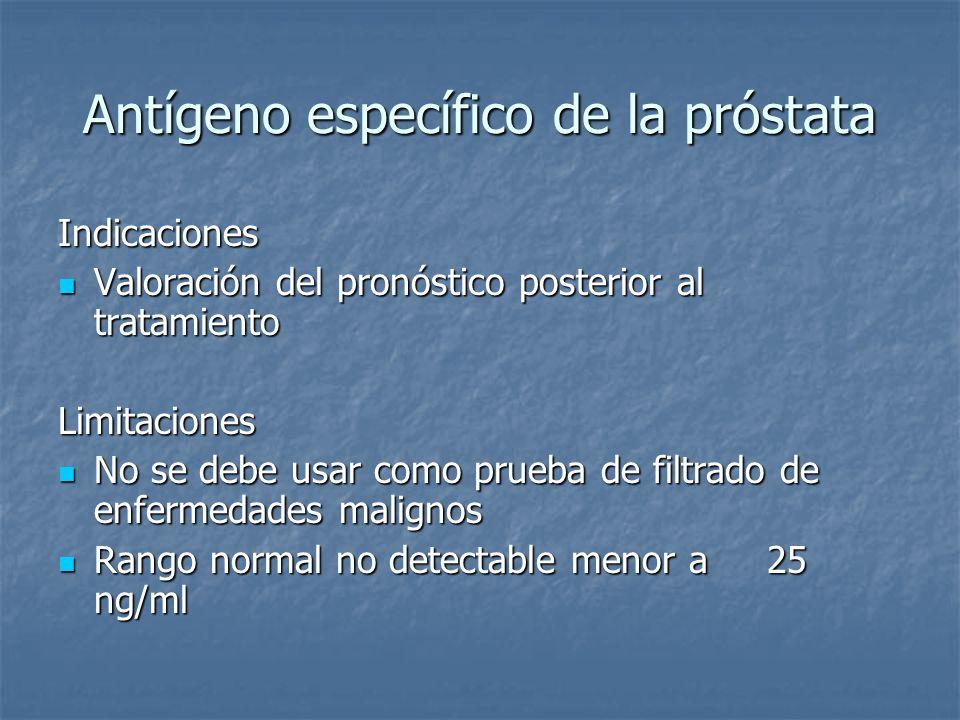 Antígeno específico de la próstata
