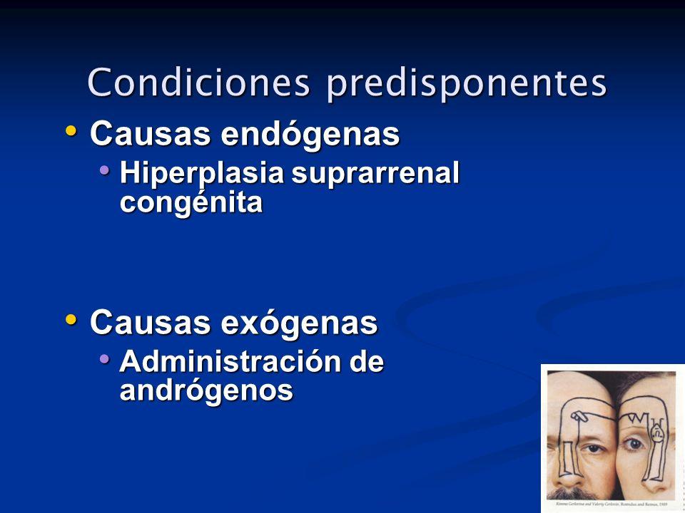 Condiciones predisponentes