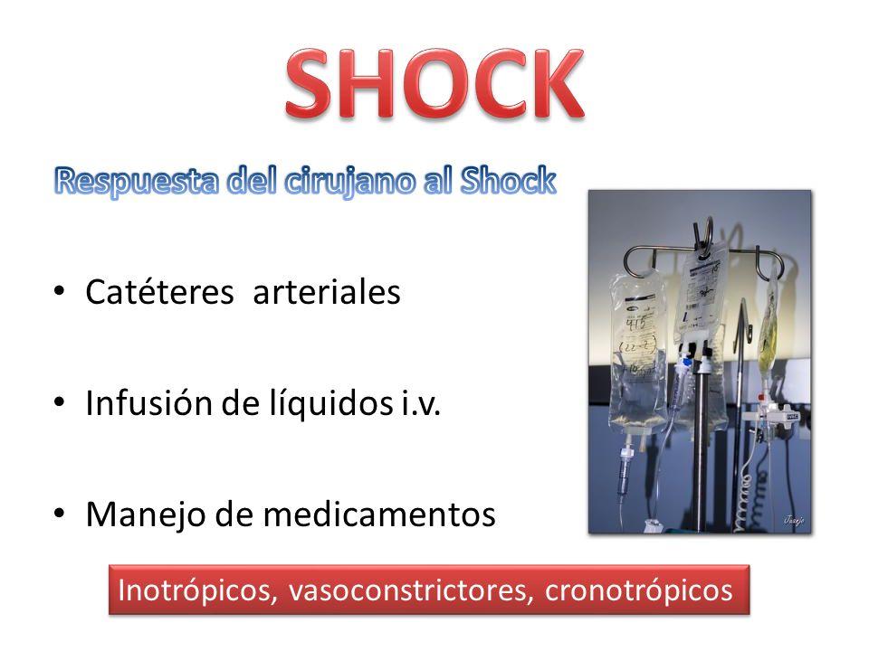 Respuesta del cirujano al Shock