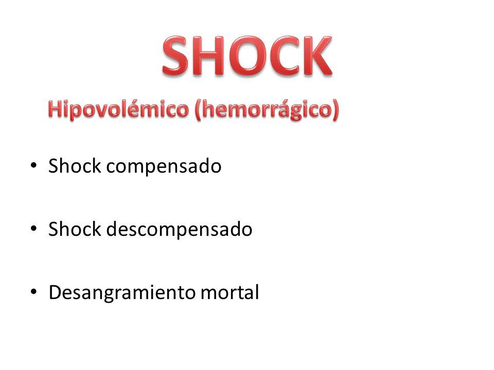 Hipovolémico (hemorrágico)
