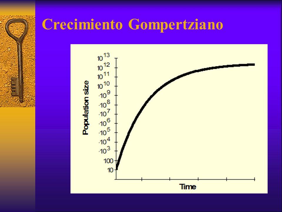 Crecimiento Gompertziano