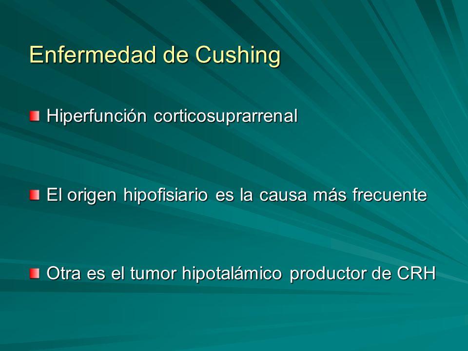 Enfermedad de Cushing Hiperfunción corticosuprarrenal