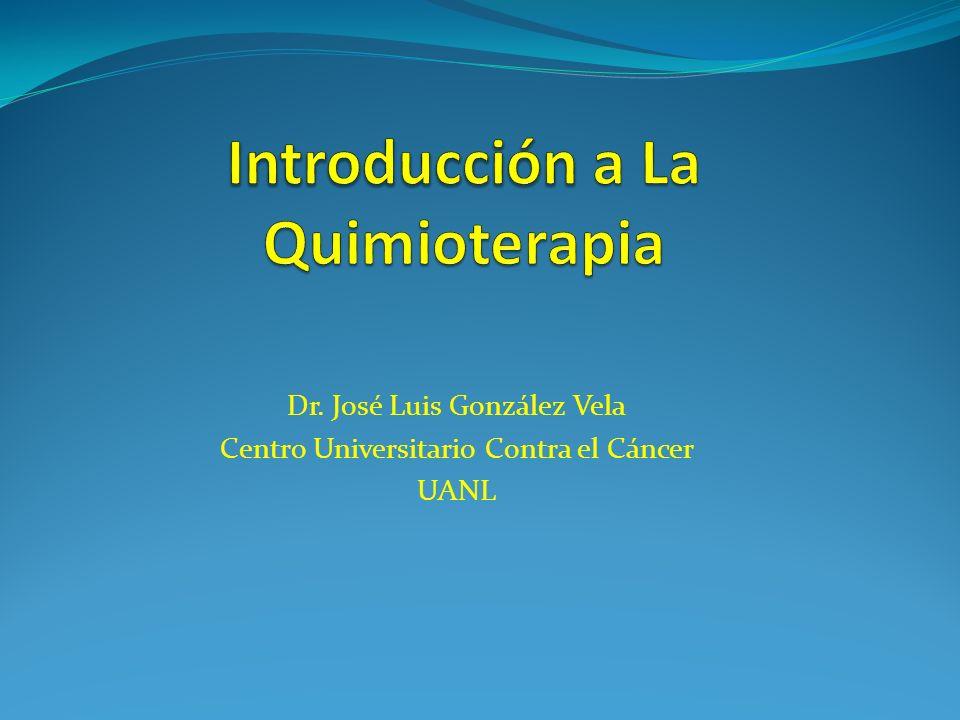 Introducción a La Quimioterapia