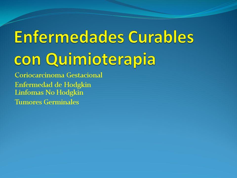 Enfermedades Curables con Quimioterapia