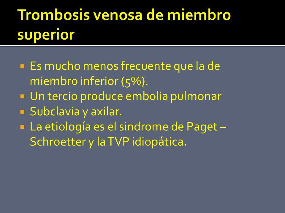 Trombosis venosa de miembro superior