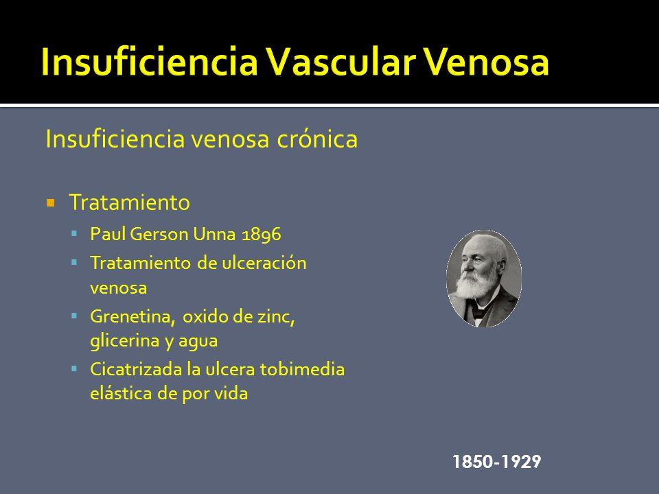 Insuficiencia Vascular Venosa