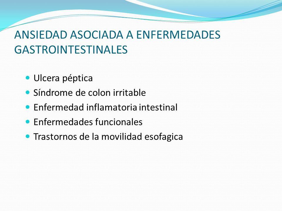 ANSIEDAD ASOCIADA A ENFERMEDADES GASTROINTESTINALES
