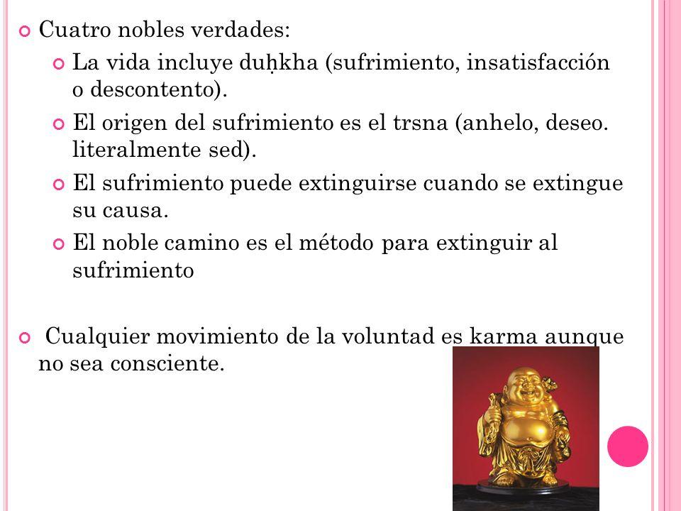Cuatro nobles verdades:
