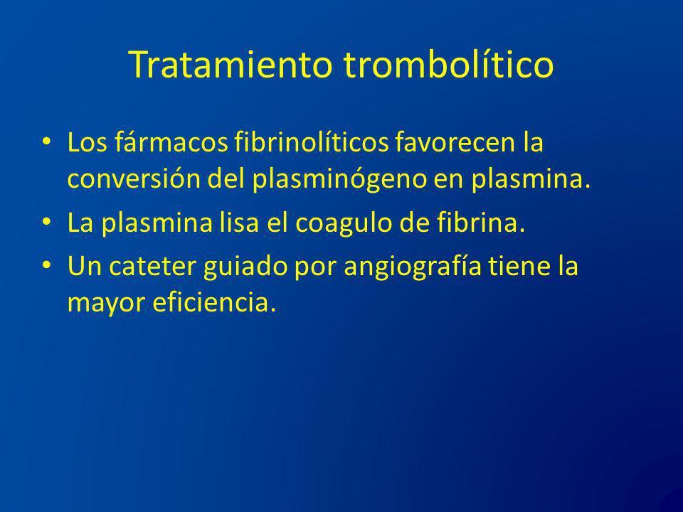 Tratamiento trombolítico