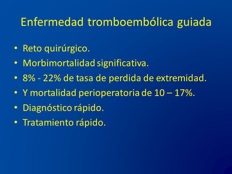 Enfermedad tromboembólica guiada