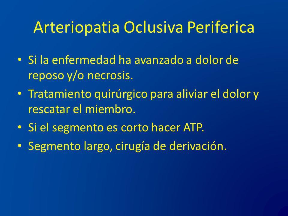 Arteriopatia Oclusiva Periferica