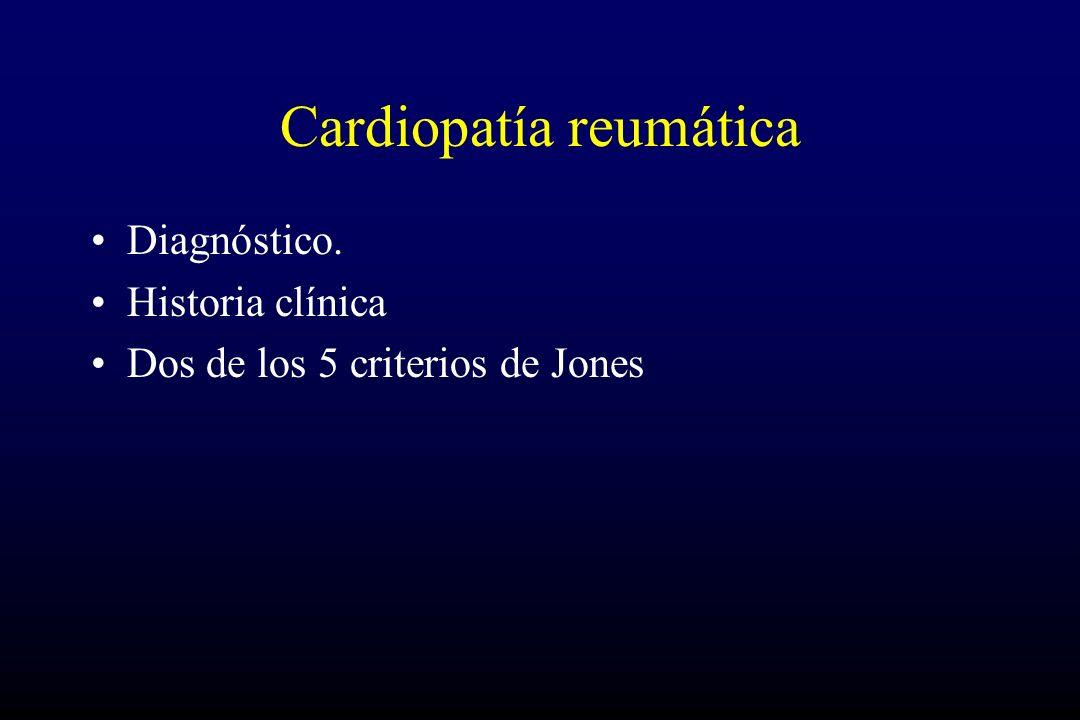 Cardiopatía reumática