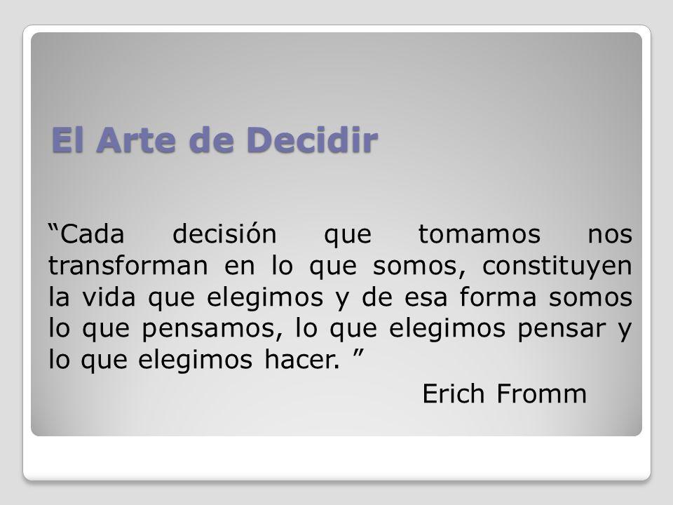 El Arte de Decidir