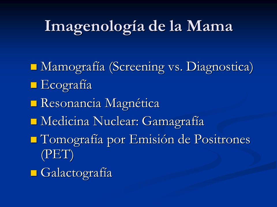 Imagenología de la Mama