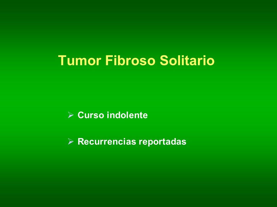 Tumor Fibroso Solitario
