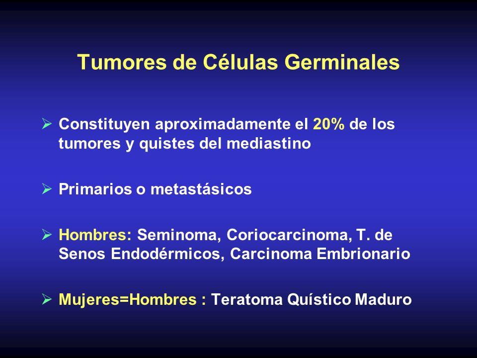 Tumores de Células Germinales