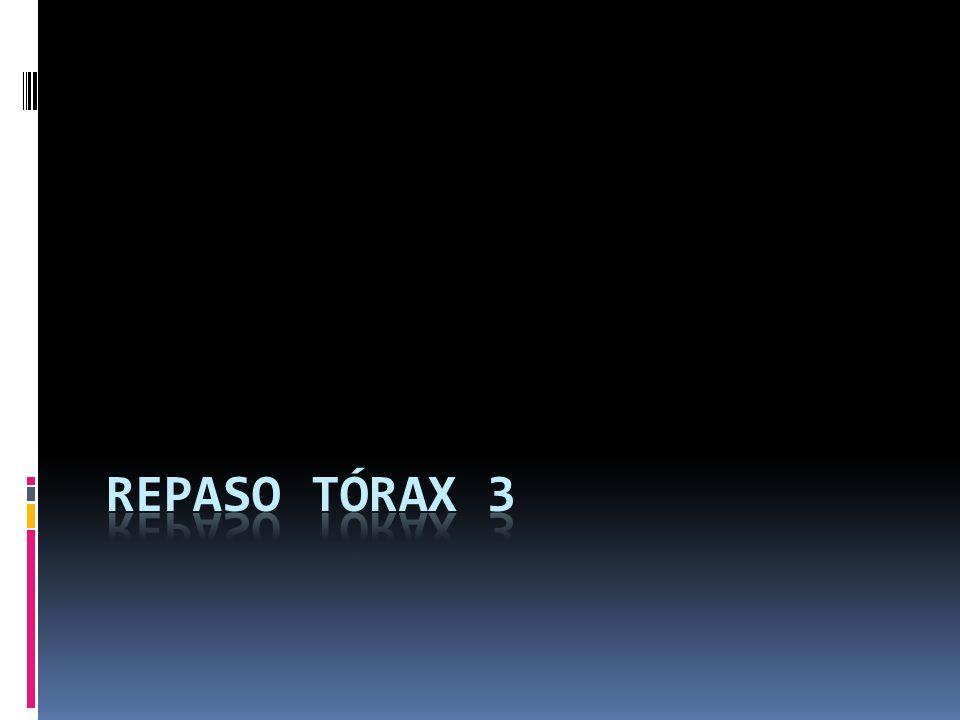 Repaso Tórax 3