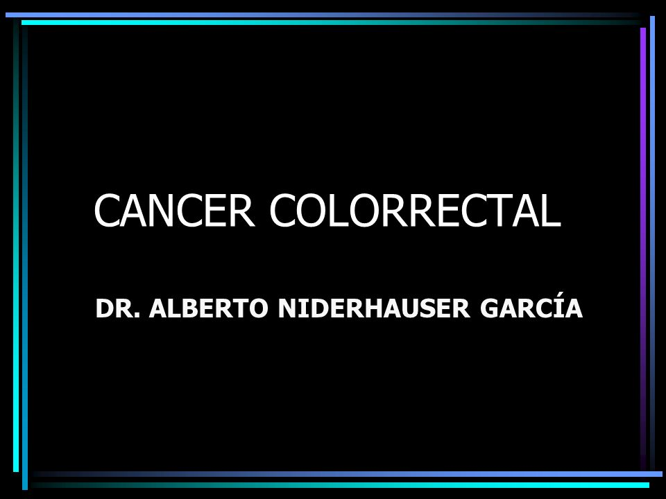 DR. ALBERTO NIDERHAUSER GARCÍA