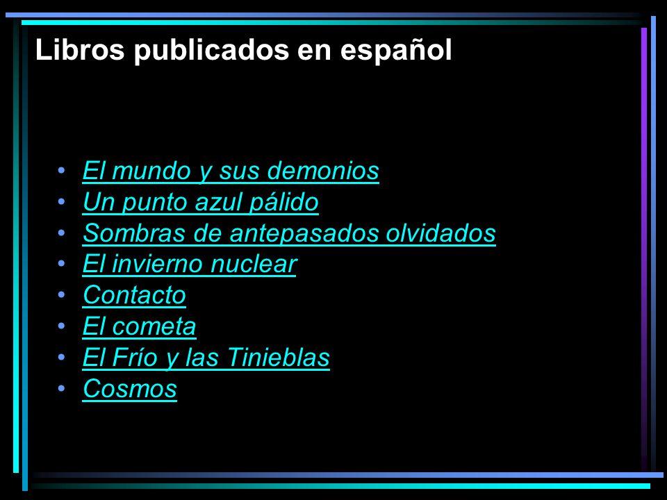 Libros publicados en español