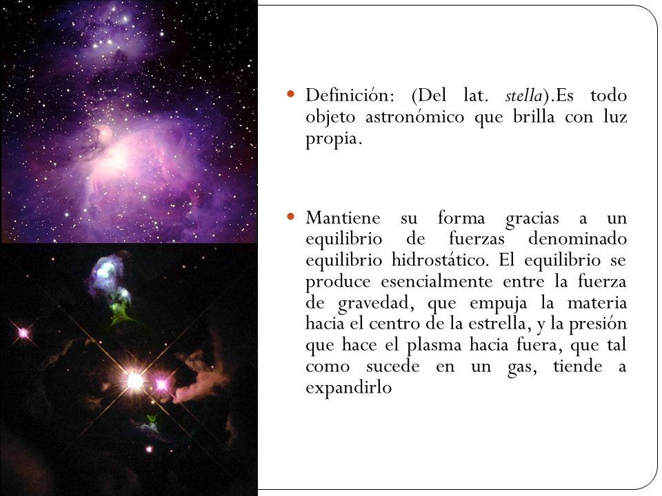 Definición: (Del lat. stella)